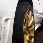 gold wheel with black RimBlades