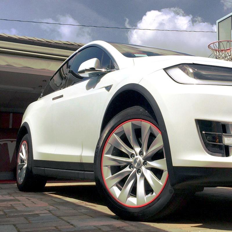 Tesla Model 3 2017 Hd 4k Wallpaper: RimSavers - Maximum Protection For Your Rims