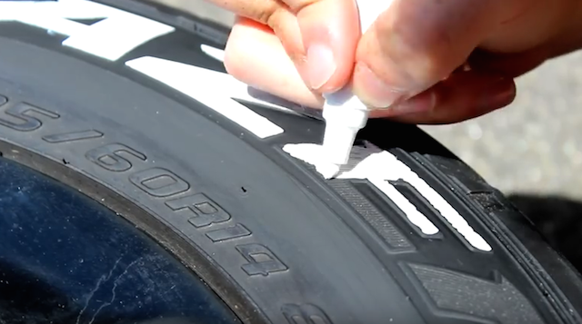 tire Lettering step 4