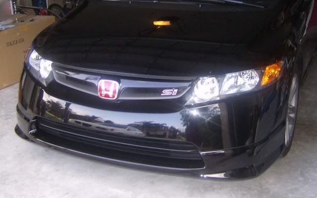 Honda splitter