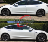 TESLA MODEL 3 RimSavers w No clips