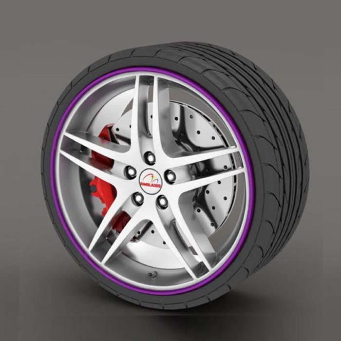 Purple RimSaver Rim Protectors